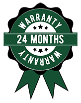 24 Month Limited Warranty