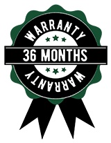 36 Month Limited Warranty